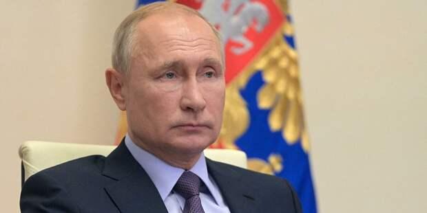Путин отреагировал на слова Байдена