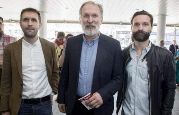 Федор Добронравов с сыновьями-актерами | Фото: starhit.ru