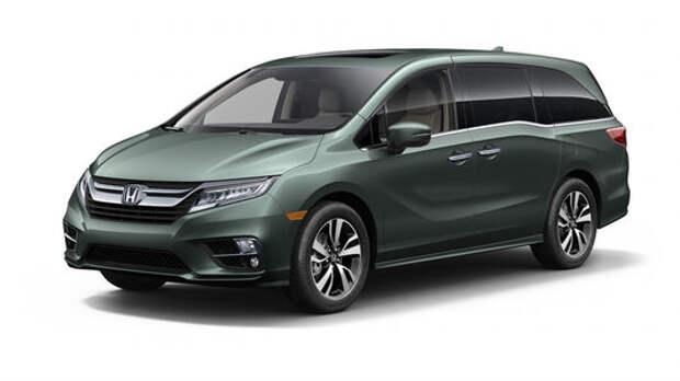 Домохозяйки аплодируют: Honda представила новый минивэн Odyssey