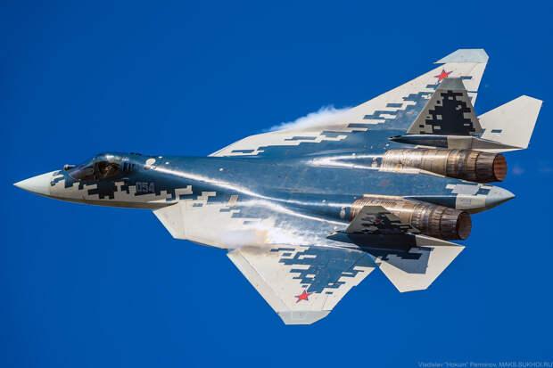 Су-57 доработают для управления группой беспилотников