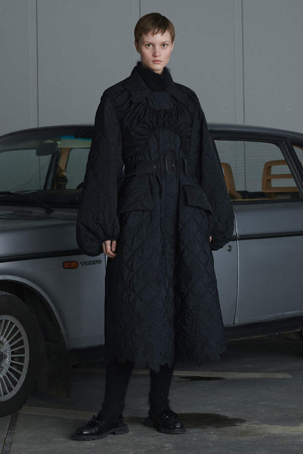 Cecilie Bahnsen осень-зима 2021/22