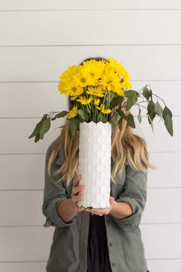 Идеальная ваза в ваш интерьер diy