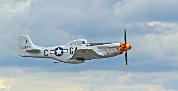 Американский истребитель Р-51 «Мустанг». pxhere.com