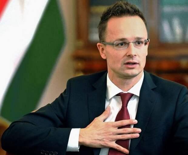 Глава МИД Венгрии Сийарто