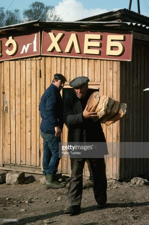Внутри советских магазинов.