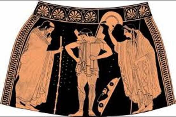 К истории конкурса мужской красоты в древней Греции