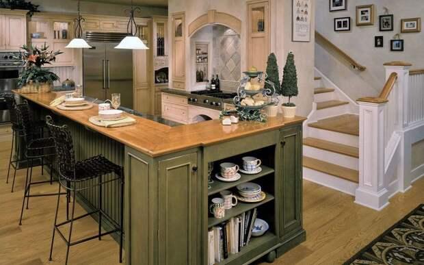 Оливковый цвет — отличное решение для интерьера