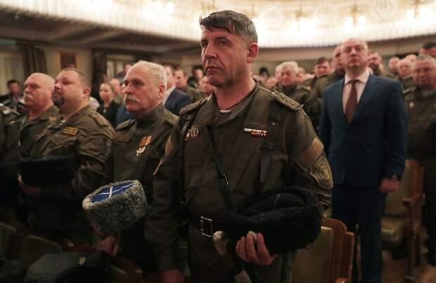 Крымские власти создали для себя казаков