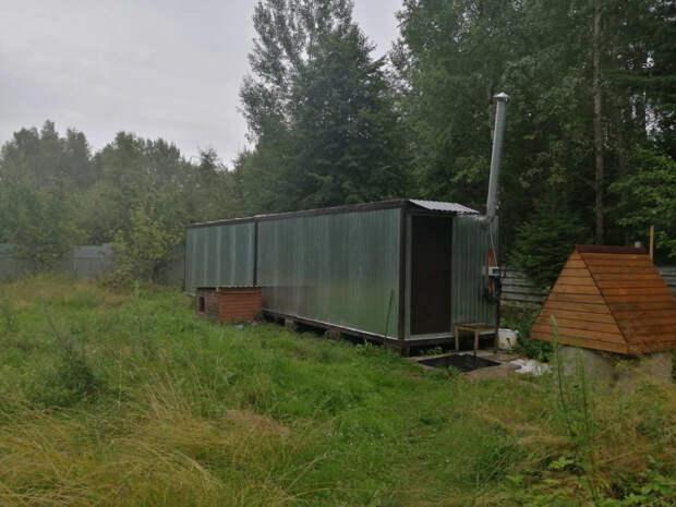 Житель Тверской области выращивал коноплю в «тепличном комплексе» из строительных вагончиков