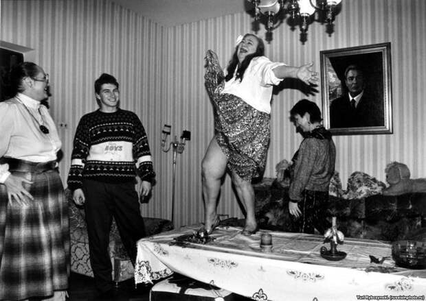 15 снимков из «лихих девяностых» 90-е, СССР, фото
