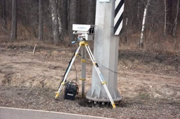 Расстановка мобильных камер на калужских дорогах 26 июля