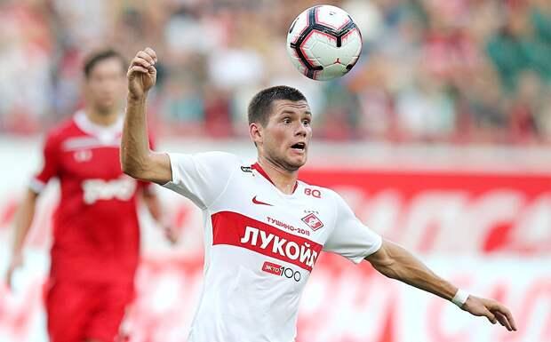 Агузаров: «В «Спартаке-2» Ташаев не останется, ищем варианты уйти в аренду до окончания сезона»