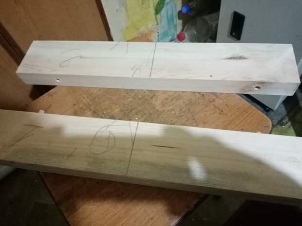 Конструкция Улья: Склейка досок