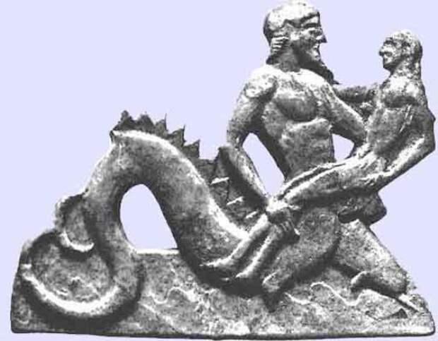 Тритон и Тесей