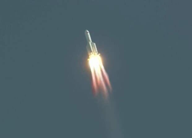 Китайцы запустили тяжелую ракету CZ-5B с космическим кораблем нового поколения