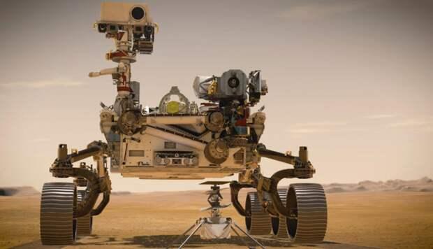 Посадку нового аппарата США на Марсе в Кремле назвали достоянием человечества