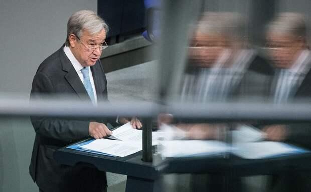 Антониу Гутерриш назвал введение миротворцев ООН на Донбасс маловероятным