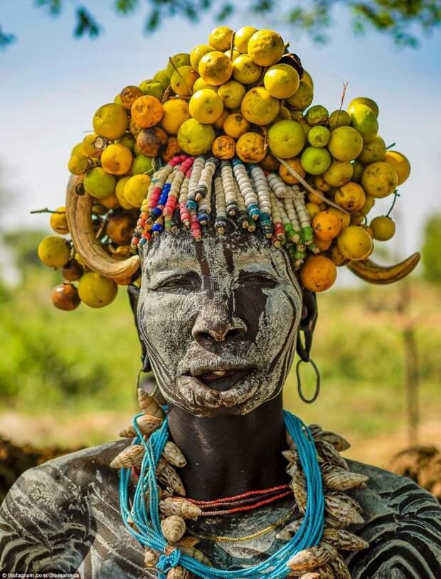 Своеобразная красота женщин эфиопских племен