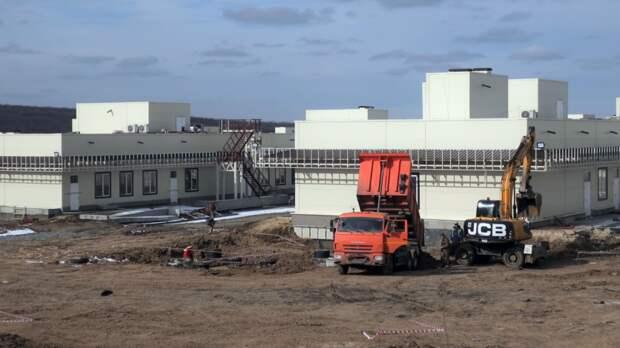 Строительство инфекционного центра вРостове завершится летом