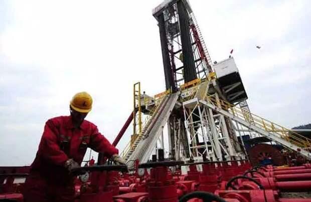 Chevron Китай добыча