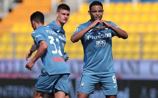 «Аталанта» разгромила «Парму» и вернулась на 2-е место в Серии А, Миранчук забил гол