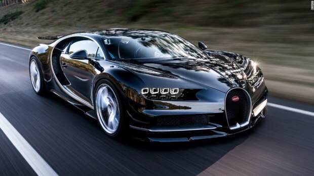 Bugatti Chiron - самая дорогая машина на планете.