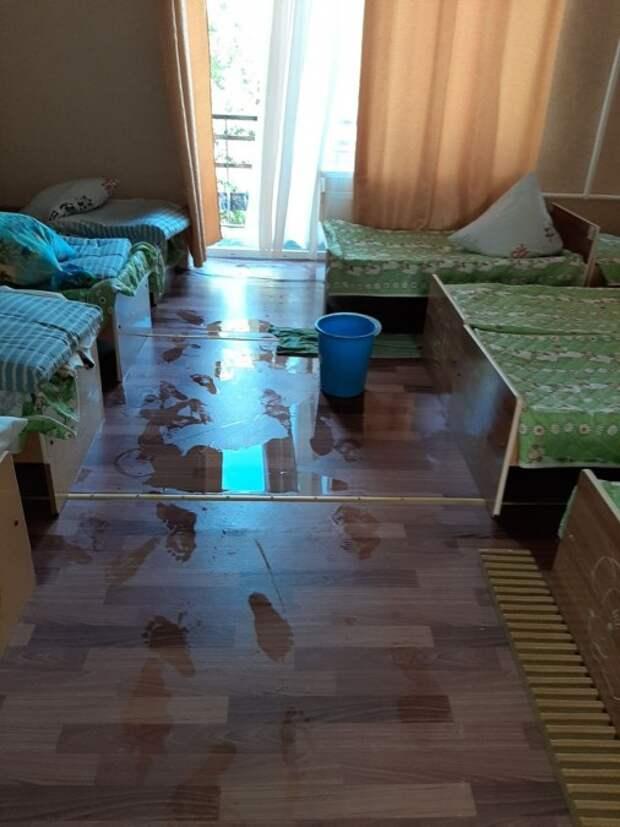 Сырой и заплесневевший детсад открыли для крымских детей