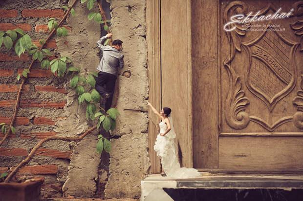 Дорогая, яуменьшил новобрачных: свадебный фотограф превращает молодых влилипутов