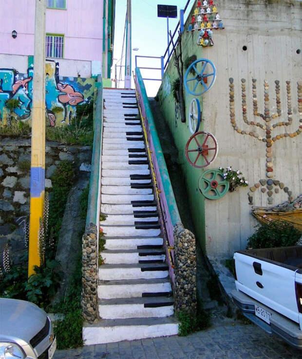 Стрит-арт в Вальпараисо, Чили