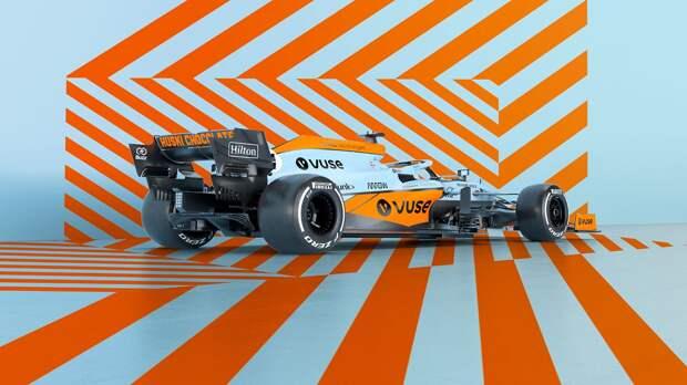 «Макларен» представил особую ливрею для Гран-при Монако