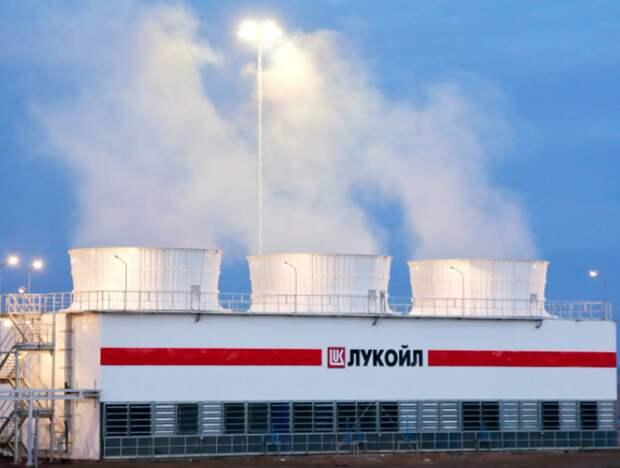 """""""ЛУКОЙЛ"""" в 1 полугодии снизил добычу углеводородов на 2,1%"""