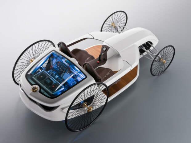 10. Mercedes Benz F-Cell Roadster авто, автомобили будущего, уникальные автомобили