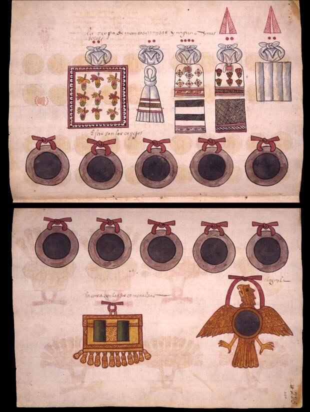 """Зеркало """"для контакта с духами"""", принадлежавшее известному оккультисту XVI века, оказалось ацтекского происхождения"""