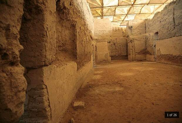 Мари: руины города, где найдено 24 тысячи документов