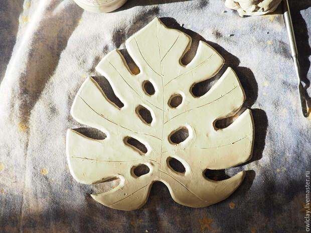 САМОДЕЛКИ. Мыльница из глины
