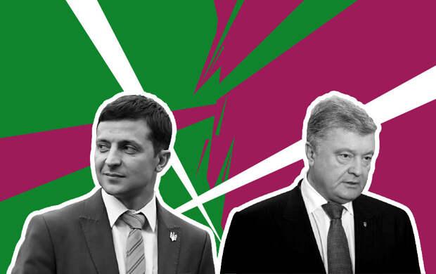 Загнанный в угол Порошенко упал в ноги Зеленскому, чтобы просить о спасении