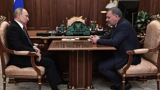 Куратор ТЭК рассказал президенту озаконопроектах поАрктике