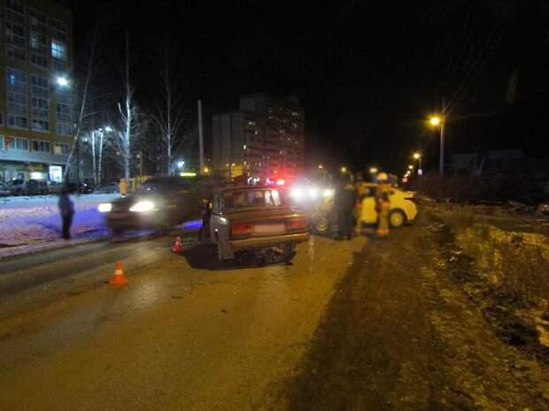 За выходные в «пьяных» ДТП в Удмуртии 1 человек погиб и трое пострадали