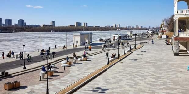 Павильон с фитобаром появится в парке Северного речного вокзала