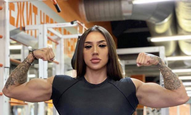 Девушки накачали мускулы до невероятных размеров и стали больше мужчин