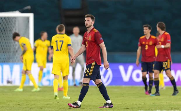 Испания сыграла вничью со сборной Швеции на Евро-2020