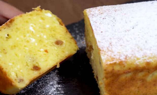 Сырник как пирог: кладем в форму и ставим в духовку