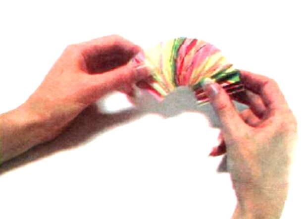 veer4 Упаковка подарка «Веер» Ñ