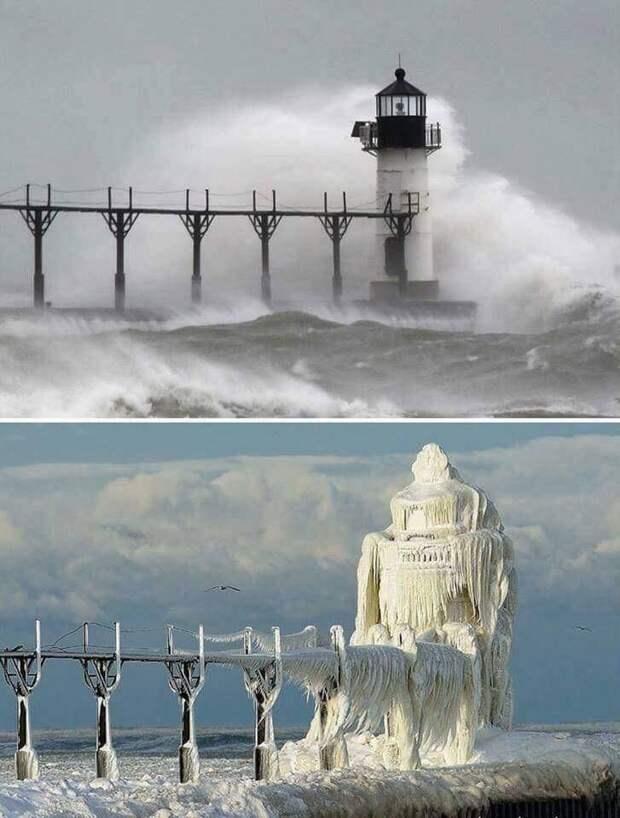 Замерзший маяк