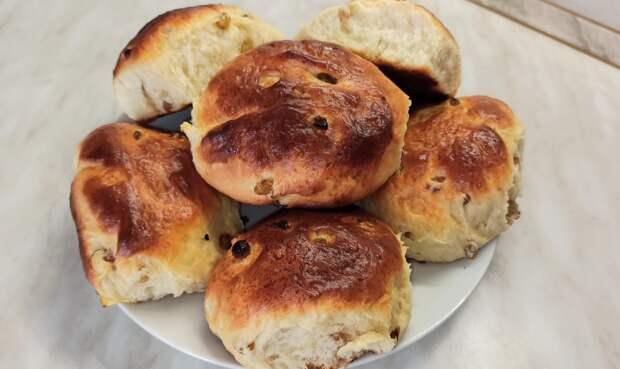 Мягкие и нежные домашние булочки с изюмом!