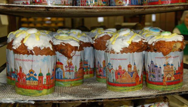 Более 100 хлебозаводов и фермерских пекарен Подмосковья выпекают куличи к Пасхе