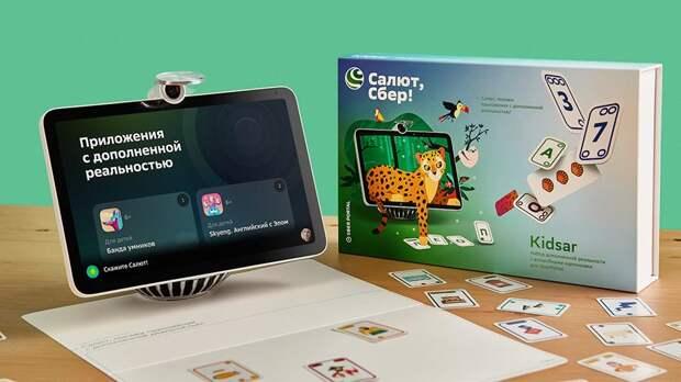 «Сбер» запустил набор интерактивных карточек для детей