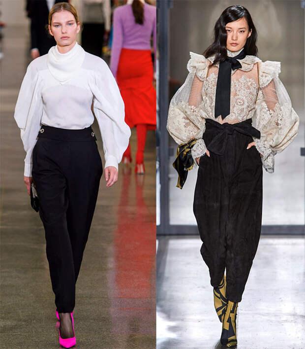 Модные блузки в романтическом стиле
