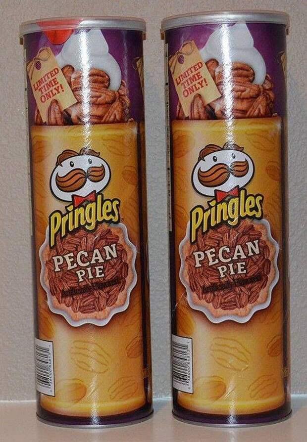 Самые необычные вкусы чипсов в мире