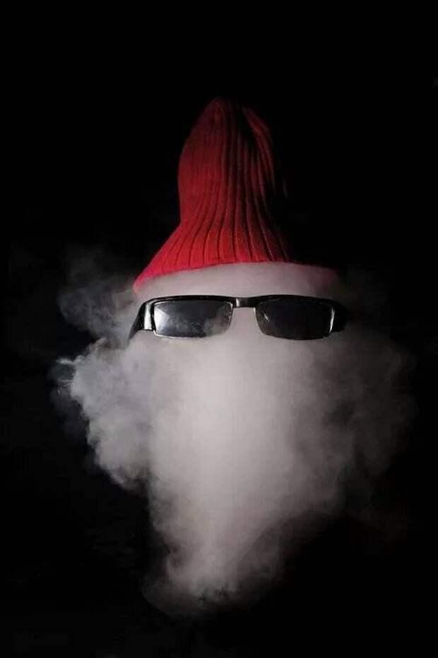Дым и шапка